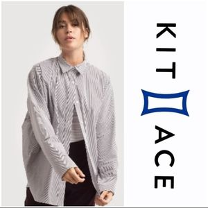 KIT and ACE Studio Stretch Button Up Shirt